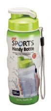 Lock & Lock Green Sports Handy Bottle with Carry Strap - 500ml